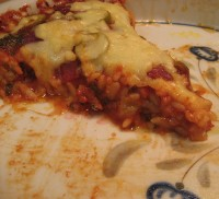 Orzo Crust Pizza