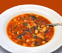 Tomato, White Bean and Pasta Soup