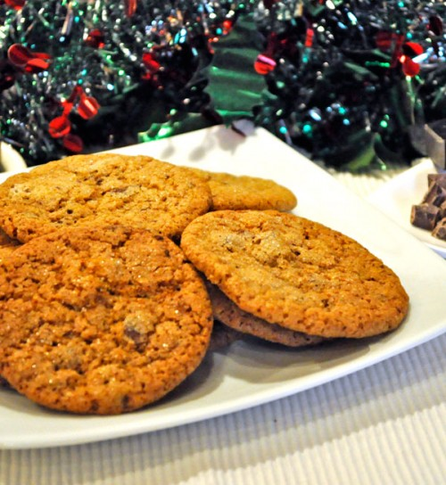 Ginger Chocolate Chunk Cookies