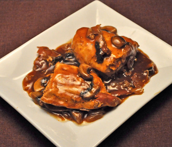 Chicken with Red-eye Gravy