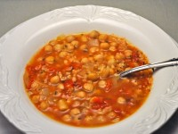 Lemon Chickpea Soup with Bulgur