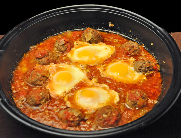 Meatball and Egg Tagine