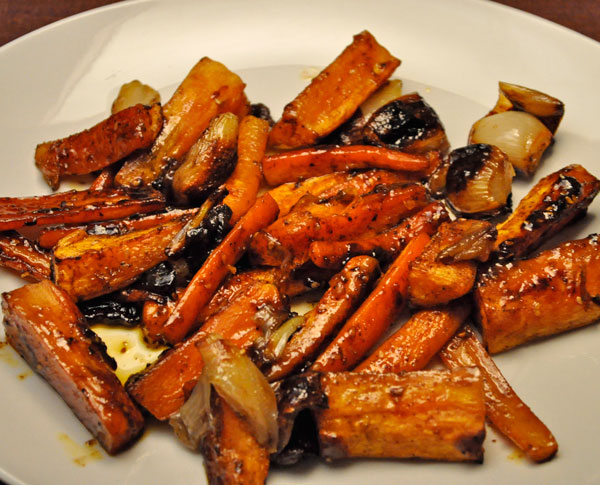 Roasted Vegetables, Moroccan Style