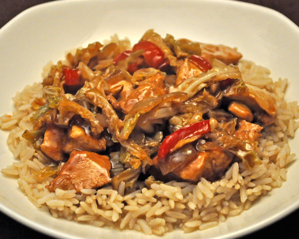 Stir-Fried Ginger Chicken