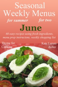 Weekly Menus for June