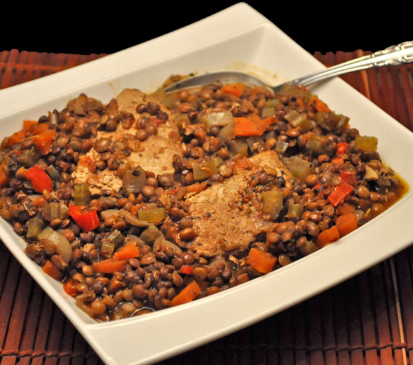 Pork and Lentil Stew