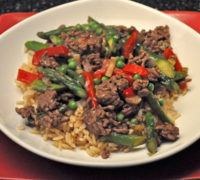 Stir-Fried Beef & Asparagus