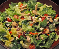 Lettuce and Turkey Salad