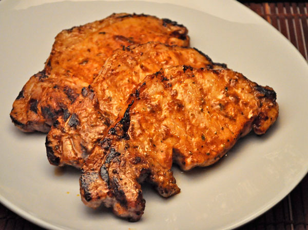 Grilled Chili Chops