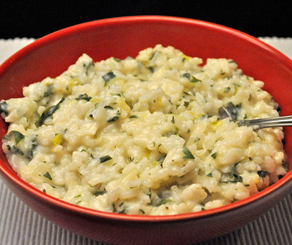 Parsley Risotto