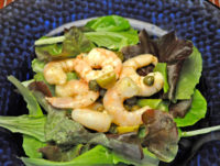 Shrimp, Caper and Olive Salad