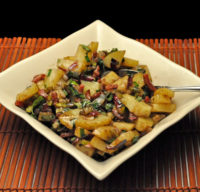 Warm Balsamic Potato Salad