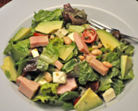 Ham, Bean and Avocado Salad