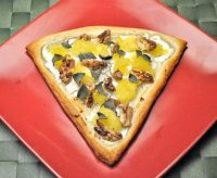 White Pizza with Acorn Squash, Walnuts and Sage
