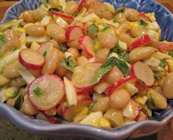 White Bean, Radish Salad