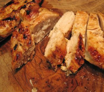 Simple Grilled Chicken Breasts