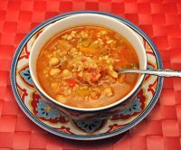 Spicy Moroccan Tomato Soup