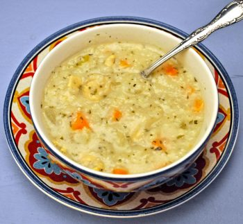 Lemon Chicken Rice Soup