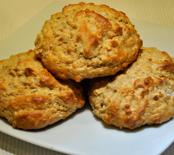 Oatmeal Drop Biscuits