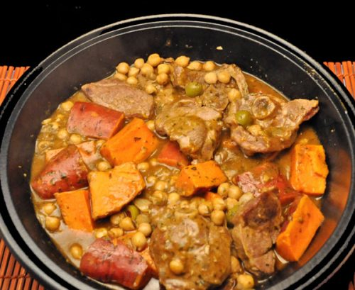 Tagine of Lamb & Sweet Potatoes