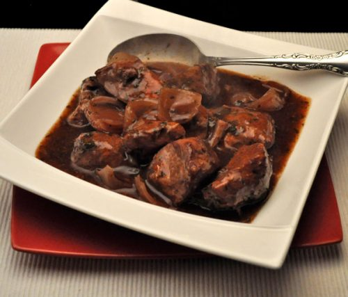 Slow Cooker Pork in Red Wine