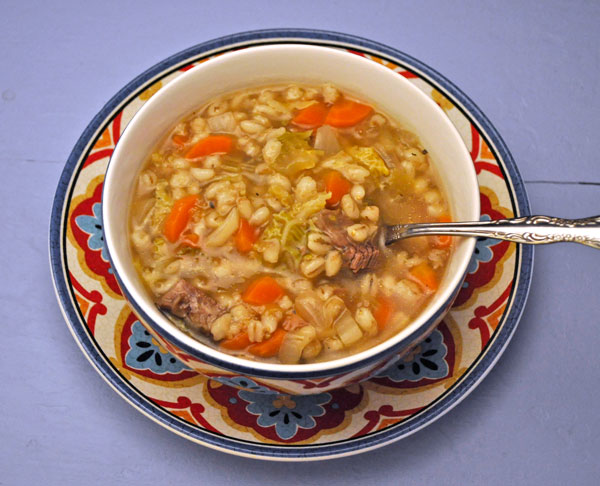 Beef Vegetable Barley Soup