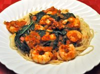Shrimp & Spinach Pasta