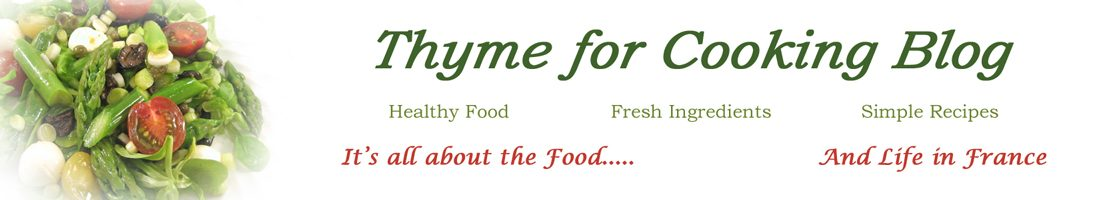 Thyme for Cooking, Blog