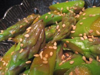 Chinese Asparagus Salad