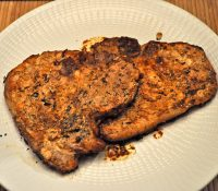 Grilled Pork Chops, Spicy