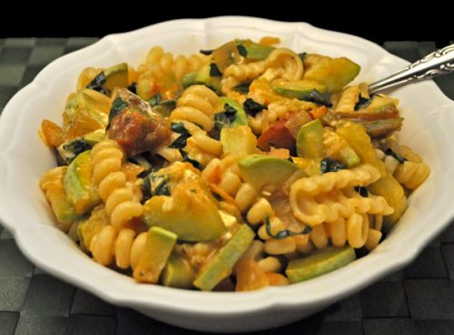 Pasta with Summer Squash and Lemon