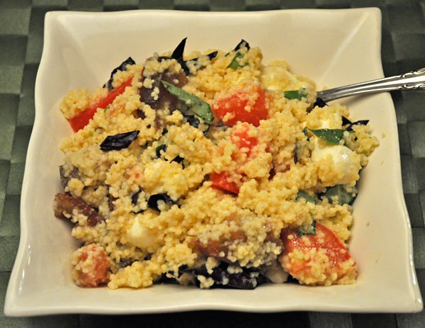 Couscous Salad Caprese Style Hot Thyme For Cooking Blog