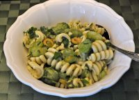 Pasta Salad with Green Tomatoes and Herbs