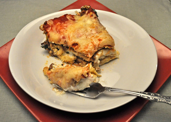 Beef and Spinach Lasagne