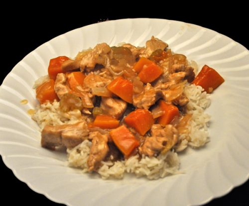 Stir-Fried Turkey