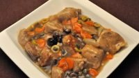 Braised Veal with Capers
