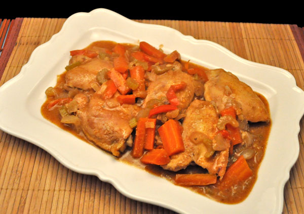 Slow Cooker Chicken and Carrots