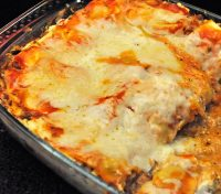 Leek and Red Pepper Lasagne