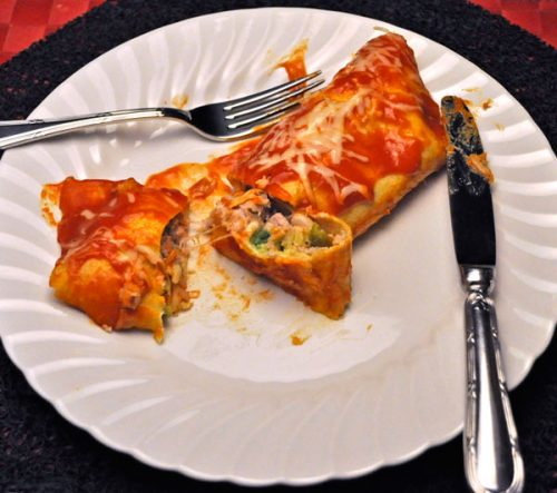 Tuna Enchiladas