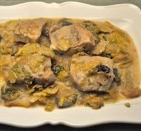 Pork and Cabbage, Slow Cooker