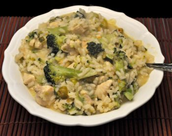 Chicken and Broccoli Risotto