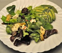 Avocado, Artichoke Heart and Feta Salad