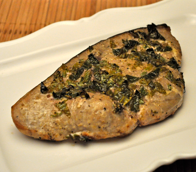 Grilled Lemon Swordfish