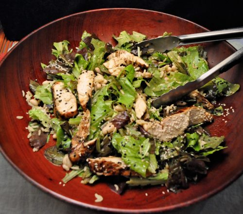 Sesame Chicken Salad