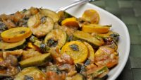 Moroccan Spiced Summer Squash