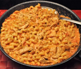 Turkey Pasta with Horseradish