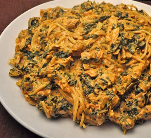 Turkey Spinach Pasta