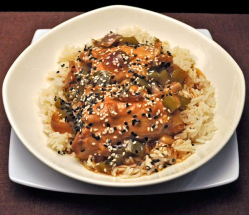 Slow Cooker Chicken Sesame