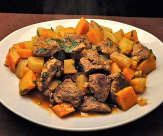 Lamb Stew with Squash and Potatoes
