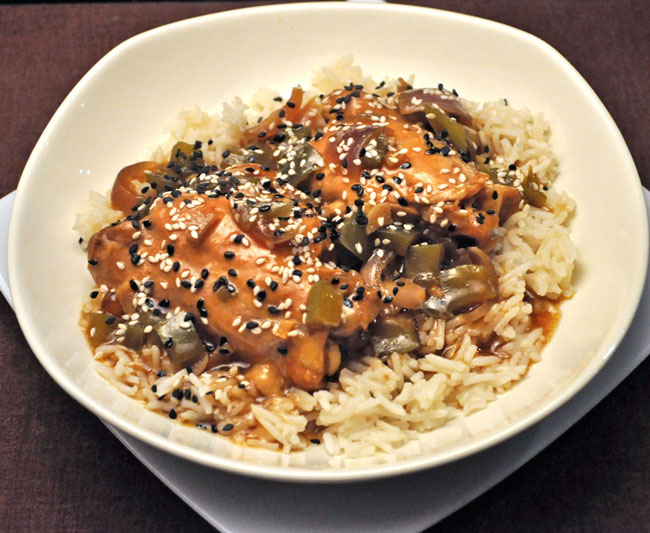 Sesame Chicken, Slow Cooker